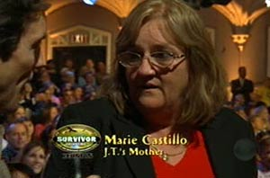 James Thomas Jr.'s mother Marie Castillo - Survivor Tocantins