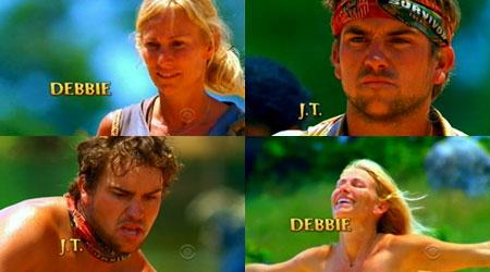 Debra Beebe and James Thomas Jr. - Survivor Tocantins