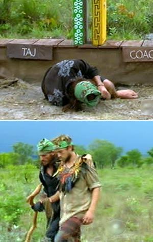 James Thomas Jr. and Coach - Survivor Tocantins
