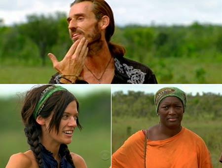 Coach, Erinn, Taj - Survivor Tocantins