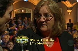 James Thomas Jr.'s mother Marie Castillo - Survivor Tocantins